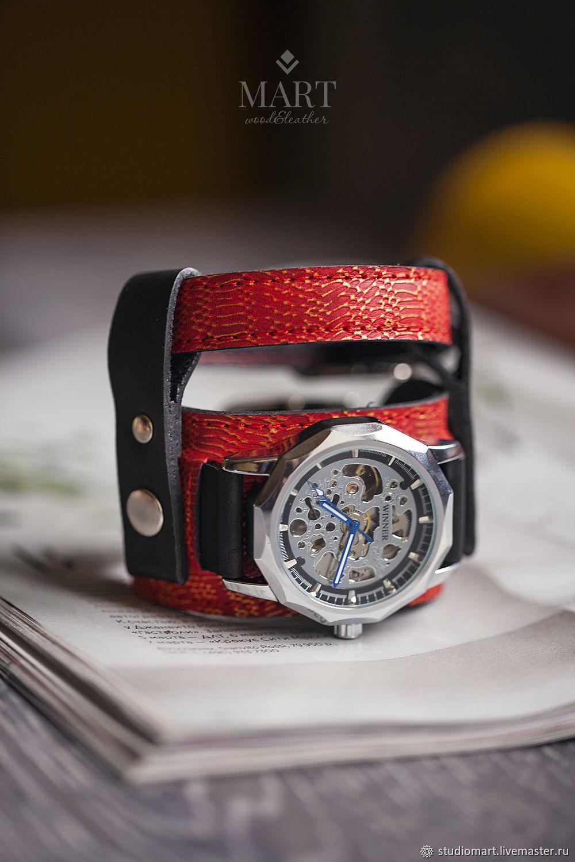 Часы: Наручные часы DOUBLE RED, Часы наручные, Санкт-Петербург,  Фото №1