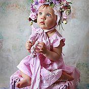 Украшения ручной работы. Ярмарка Мастеров - ручная работа Цветочная шапочка для фотосессии. Handmade.