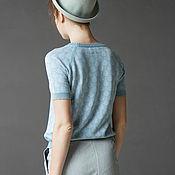 Одежда ручной работы. Ярмарка Мастеров - ручная работа Футболка арт.1624V02. Handmade.