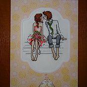 Valentines handmade. Livemaster - original item First kiss. Handmade.