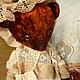 """Мишки Тедди ручной работы. Ярмарка Мастеров - ручная работа. Купить Мишка """"Аглая"""". Handmade. Мишка, антикварное кружево, диски"""