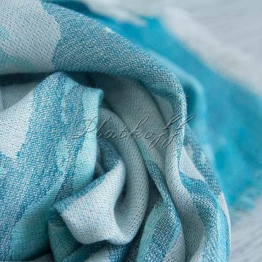 Accessories handmade. Livemaster - original item Cashmere scarf from HERMES