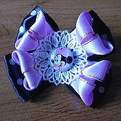 Украшения handmade. Livemaster - original item elastic hair band: Minnie hair bow