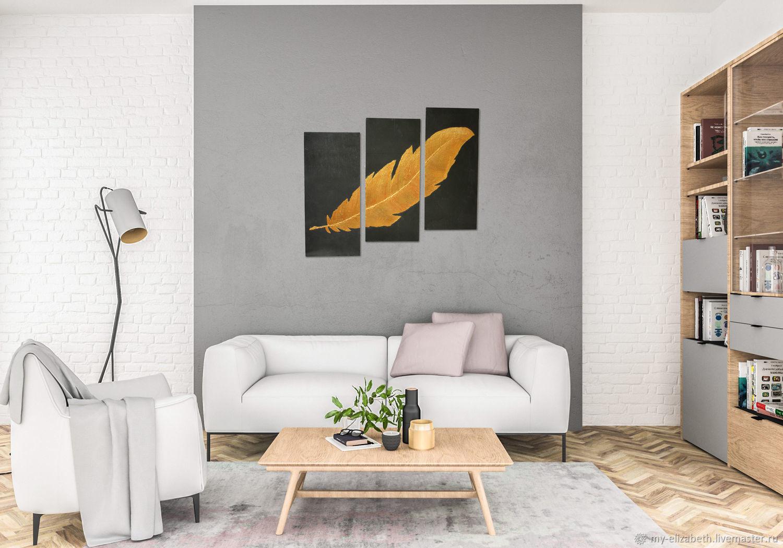"""Картина: """"Золотое перо"""", Картины, Челябинск,  Фото №1"""