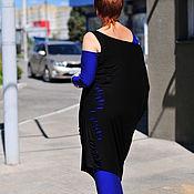 """Одежда ручной работы. Ярмарка Мастеров - ручная работа авторское платье, двойное """"ЭЛЕКТРИК"""". Handmade."""