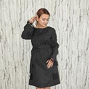 Одежда ручной работы. Ярмарка Мастеров - ручная работа Платье из шерсти П-118. Handmade.