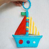 """Куклы и игрушки ручной работы. Ярмарка Мастеров - ручная работа Сенсорная игрушка """"Кораблик"""". Handmade."""