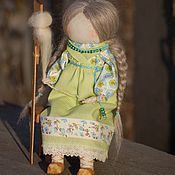 """Куклы и игрушки ручной работы. Ярмарка Мастеров - ручная работа Народная кукла """"Рукодельница"""".. Handmade."""