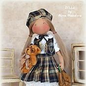Куклы и игрушки ручной работы. Ярмарка Мастеров - ручная работа ЛИЦЕИСТКА кукла ручной работы. Handmade.