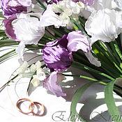 Свадебный салон ручной работы. Ярмарка Мастеров - ручная работа Каскадный букет. (заказ для Марии). Handmade.