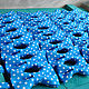 Tie Freeman / blue bow tie polka dot. Ties. Respect Accessories. My Livemaster. Фото №4