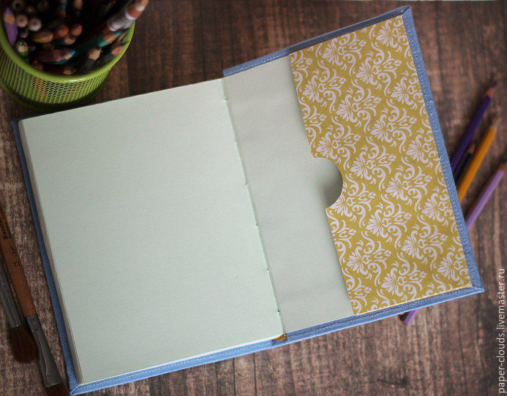Как сделать скетчбук своими руками в домашних условиях