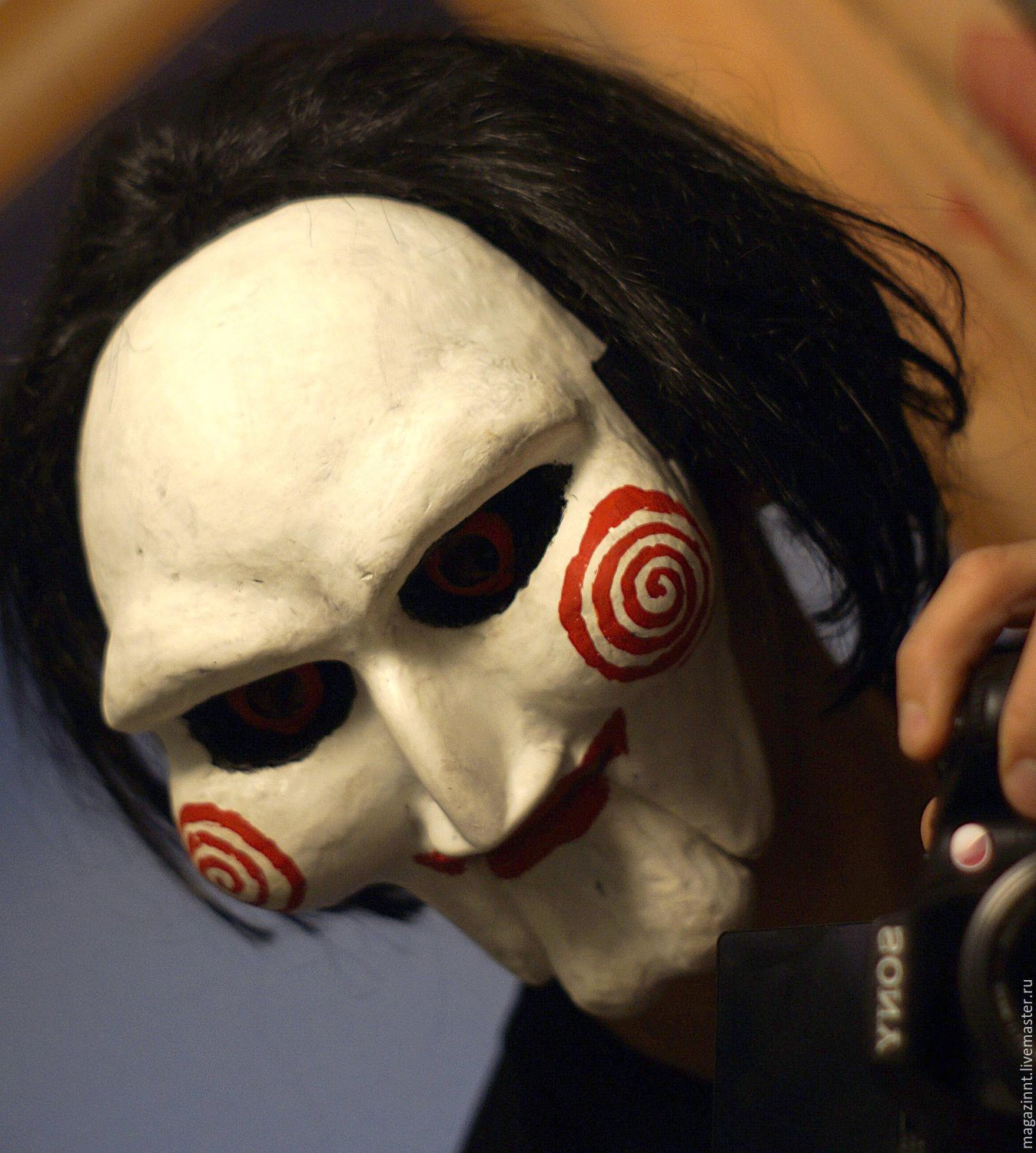 Home Interior Design Online Magazine Saw Jigsaw Billy The Puppet Mask With Wig Shop Online