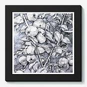 Картины и панно ручной работы. Ярмарка Мастеров - ручная работа Молодильные яблоки. Handmade.