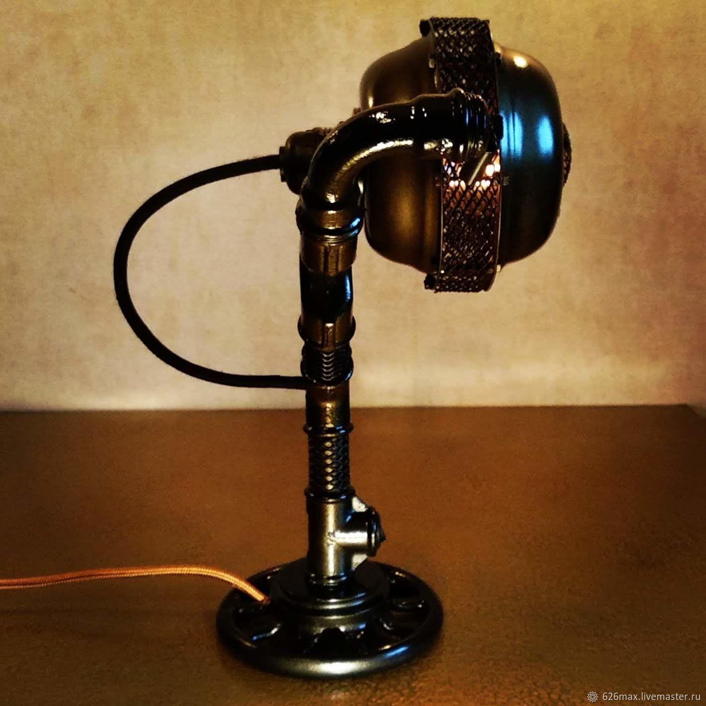 Настольная лампа Great Gatsby в стиле Лофт из чугуна, Настольные лампы, Москва,  Фото №1