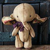 Куклы и игрушки ручной работы. Ярмарка Мастеров - ручная работа Чердачная слоняша  8..). Handmade.