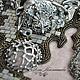 Колье, бусы ручной работы. Колье Mime Of Cologne, двойной победитель Bead Dreams 2015. Алла Масленникова (beadlady). Ярмарка Мастеров.