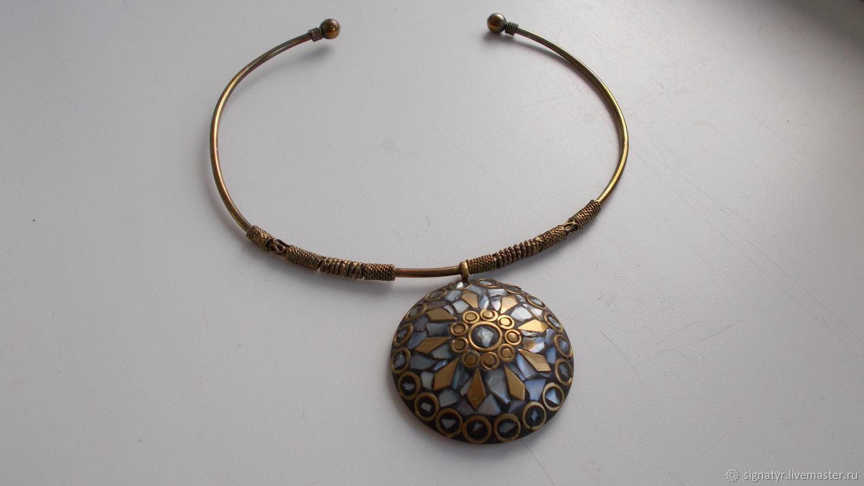 Necklace pagan 'Sea', Vintage accessories, Orenburg,  Фото №1