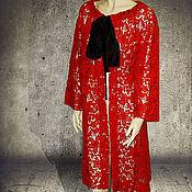 Русский стиль handmade. Livemaster - original item blanket coat in lace
