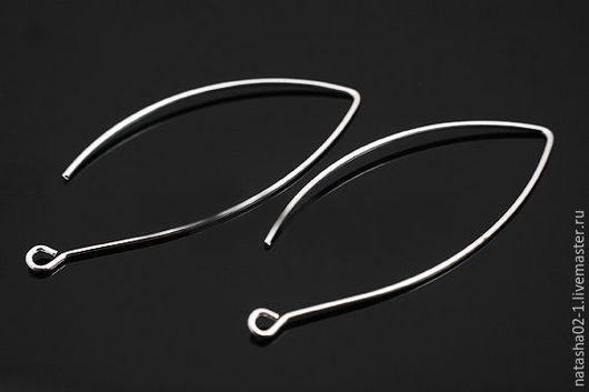 Для украшений ручной работы. Ярмарка Мастеров - ручная работа. Купить Швензы крючки серебро Южная Корея. Handmade.