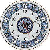 Для дома и интерьера ручной работы. Ярмарка Мастеров - ручная работа часы декоративные,керамические,круглые. Handmade.