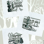 Картины и панно ручной работы. Ярмарка Мастеров - ручная работа Уголки старого парка.... Handmade.