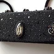 Classic Bag handmade. Livemaster - original item Handbag beaded with Geode. Handmade.