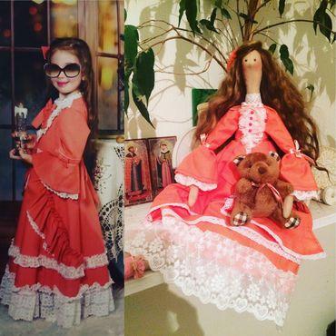 Куклы и игрушки ручной работы. Ярмарка Мастеров - ручная работа Портретная кукла тильда по фото. Handmade.