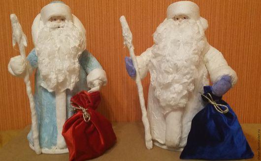 Новый год 2017 ручной работы. Ярмарка Мастеров - ручная работа. Купить Дед Мороз (в ассортименте). Handmade. Дед мороз