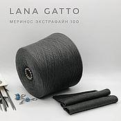 Пряжа ручной работы. Ярмарка Мастеров - ручная работа 100% Меринос Lana Gatto (Tollegno). Handmade.