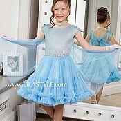 Платья ручной работы. Ярмарка Мастеров - ручная работа Нарядное платье для девочи. Handmade.