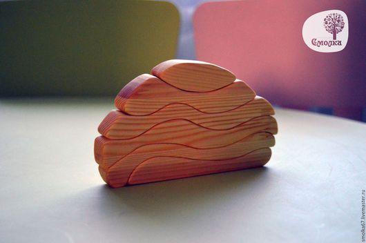 Развивающие игрушки ручной работы. Ярмарка Мастеров - ручная работа. Купить Конструктор-пазл (балансир). Развивающая деревянная игрушка.. Handmade.
