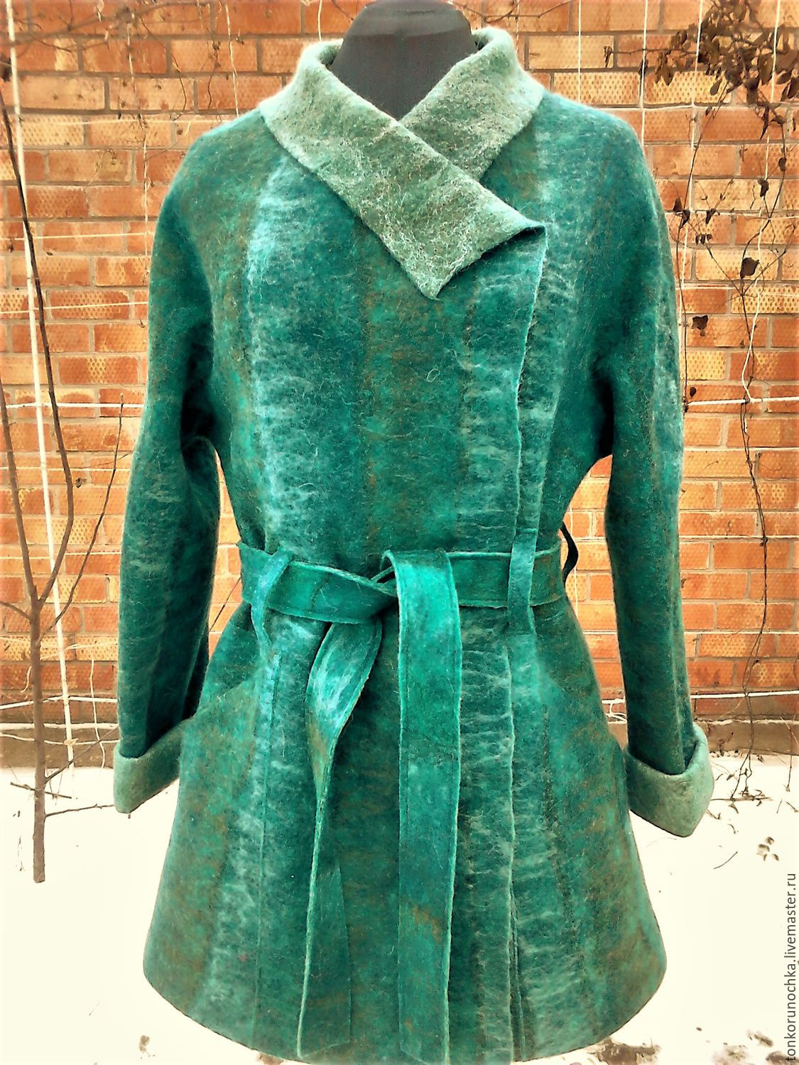 felted coat 'dreams of spring', Coats, Yeisk,  Фото №1