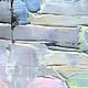 Геометрия Геометрический рисунок Картина маслом Абстракция Абстракционизм Розовая Голубая пастель Цвета Разноцветная Абстракция современные художники купить заказать картину Марина Маткина Пермь Москв