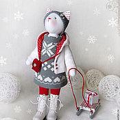 """Куклы и игрушки ручной работы. Ярмарка Мастеров - ручная работа Кошка """"В дальней стране, укрытой зимою..."""". Handmade."""