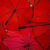 Картины и панно ручной работы. Ярмарка Мастеров - ручная работа Красное небо №1. Handmade.