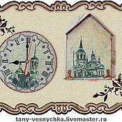 Для дома и интерьера handmade. Livemaster - original item The clock and the housekeeper