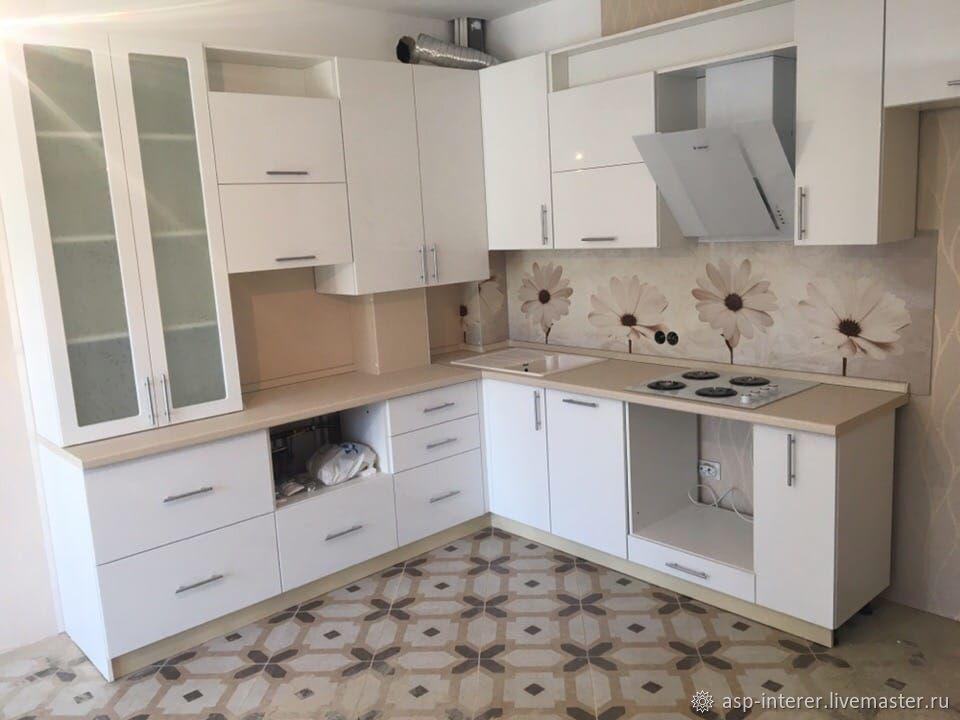 Кухня белая, Кухни, Москва, Фото №1