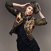 """Одежда ручной работы. Ярмарка Мастеров - ручная работа Куртка в технике """"пэчворк"""". Handmade."""