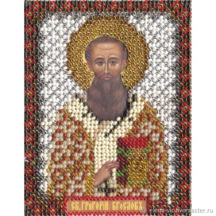 """Набор для вышивания """"Икона Святителя Григория Богослова"""", Схемы для вышивки, Смоленск,  Фото №1"""