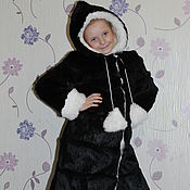Работы для детей, handmade. Livemaster - original item Children`s coat. Different colors. Handmade.