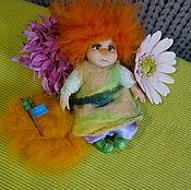 Куклы и игрушки handmade. Livemaster - original item Doll from polymer clay.Red angel.. Handmade.