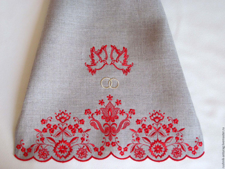Русский свадебный рушник своими руками фото 876