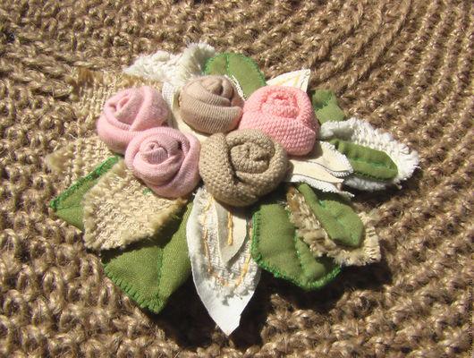 украшение цветочное,украшение из ткани,украшение ручной работы,украшение для волос,украшения,декоративный элемент,цветочная композиция, цветы,декор для скрапа,цветы из трикотажа,декор для скрапбукинга