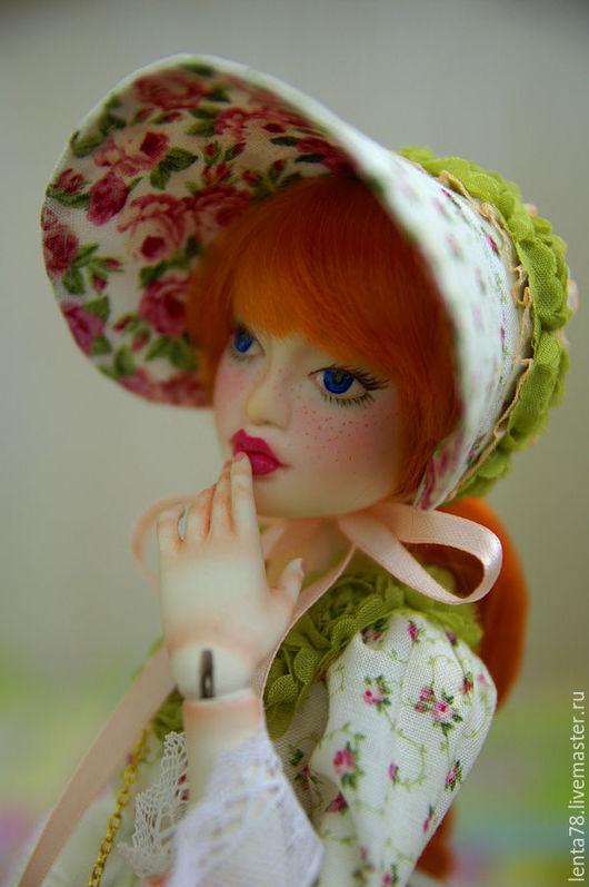 """Коллекционные куклы ручной работы. Ярмарка Мастеров - ручная работа. Купить Шарнирная кукла """"Наташенька"""". Handmade. Комбинированный, куклы и игрушки"""
