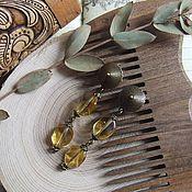 """Украшения ручной работы. Ярмарка Мастеров - ручная работа Серьги """"Дикий мед"""". Handmade."""