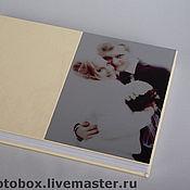 Свадебный салон ручной работы. Ярмарка Мастеров - ручная работа Свадебная фотокнига. Handmade.