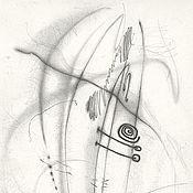 """Картины и панно ручной работы. Ярмарка Мастеров - ручная работа """"Медитация"""". Handmade."""