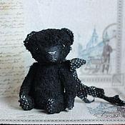 Куклы и игрушки ручной работы. Ярмарка Мастеров - ручная работа мишка тедди Сумчатый черныш)). Handmade.