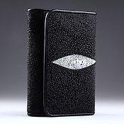 Сумки и аксессуары handmade. Livemaster - original item Wallet leather Stingray IMC0023BW. Handmade.
